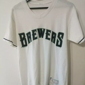 Vintage 1995 Brewers Tshirt Russell